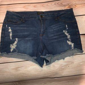 Forever 21 Plus Denim Shorts